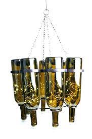 wine bottle chandelier kit light fixture lights lighthouse remarkable bot wine bottle chandelier kit outdoor