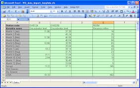 Excel Example Download Microsoft Excel Worksheet Example For Data Import Download