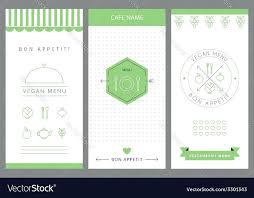 Menu Card Template Restaurant Menu Card Design Templates Free Download