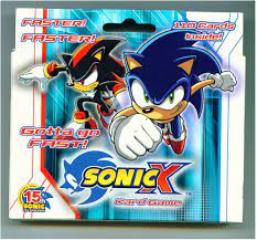I can't help but feel a lot of people passed this off when it was announced just because some of the cooler kids were seen dismissing it. Amazon Com Sonic X Card Game Starter Deck Toys Games