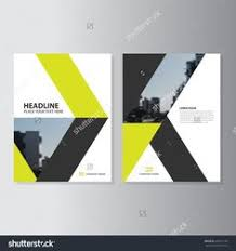 yellow black vector annual report leaflet brochure flyer template design book cover layout design