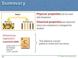 CHAPTER 2 Matter and Atoms 2.1 Matter and the Elements. - ppt download