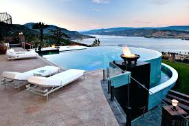 infinity pool house.  House Modern Pool Infinity House Images To