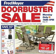 FRED MEYER OUTDOOR FURNITURE ON SALE