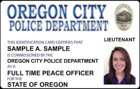 Make Your Own Identification Card The Police And Sheriffs Press Custom Photo Id Card