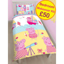 Peppa Pig Bedroom Furniture Peppa Pig Kids Bedding Home Decor Price Right Home