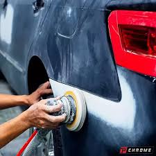 car sander. to begin, you will want remove any surface rust from your vehicle. sand the car using sander and sandpaper. achieve best results,