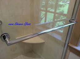 frameless shower glass door hardware coda 18 single towel bar polished nickel