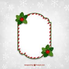 Christmas Photo Frames Templates Free Red And White Christmas Frame Free Vectors