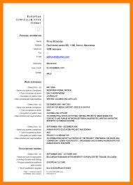 7 Curriculum Vitae Formats Prome So Banko