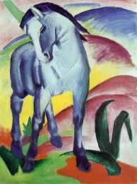 franz marc blue horse