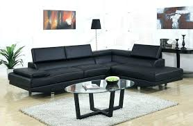 black leather sectional couch modern sectional couch studio black leather modern sectional sofa affordable modern furniture