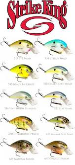 New Strike King 8 0 Squarebill Colors Bass Fishing Lures