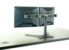 desk monitor stand dual monitor desk stand vertical