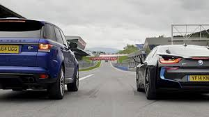 Coupe Series fastest bmw car : Speed Week drag race: BMW i8 vs Range Rover Sport SVR | Top Gear