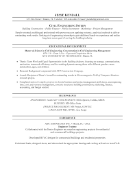 Senior Civil Engineer Resume Sample Free Resume Example And
