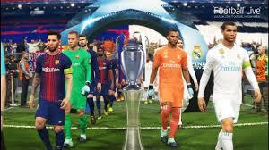 pes 2018 real madrid vs fc barcelona final uefa chions league penalty shootout football live