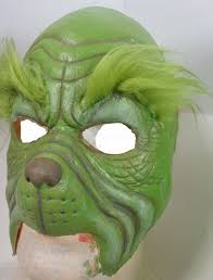 grinch foam latex prosthetic painted out of stock