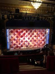 Brooks Atkinson Theatre Seating Chart Brooks Atkinson Theatre Section Rear Mezzanine Lc Row E