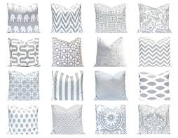 Gray Pillow Covers, Gray Pillows. Gray Cushions, Decorative Pillow Covers  Pillows in Gray
