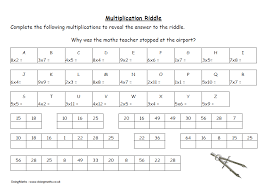 Math Multiplication Puzzle Worksheets Worksheets for all ...