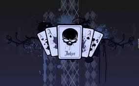 Anime Joker Card Wallpaper