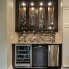 Mini refrigerator cabinet bar 6