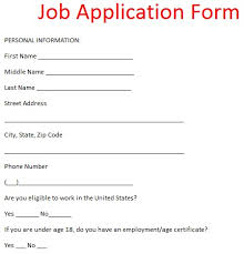 form for job job application letter example job application form