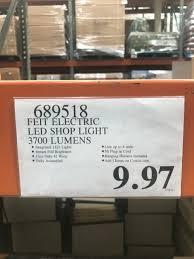 Costco Enfield Feit Electric 4 Feet Led Shop Light At Costco Bm Ymmv 9 97