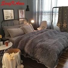 velvet duvet cover king. Modren Cover European Royal Mink Velvet Bedding Sets Super Warm Solf Winter Crystal  Duvet Cover Bedclothes Bed For Velvet Duvet Cover King