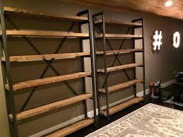 custom made bookcases custom made metal and wood bookshelves custom bookcases los angeles