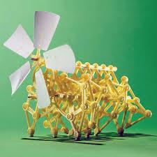 Promo Offer <b>Mini</b> Strandbeest <b>DIY</b> Robot <b>Windmill</b> Wind Power ...