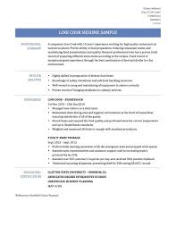 Examples Of Resumes   Template Resume Job Choose Sample Simple