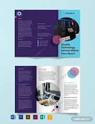 Brochure Templates For It Company 22 It Company Brochure Templates Designs Templates