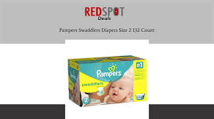 pampers swaddlers size 2 132 count discount pampers swaddlers diapers size 2 132 count discount