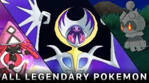 Pokemon Sun and Moon: All Legendary Pokemon, Ultra Beasts and Guardians of  Alola! - YouTube