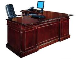 office desk l. Simple Office Incredible L Shaped Executive Desk Office With Decor 17 Throughout