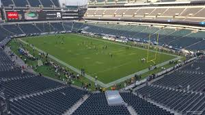 seat view for lincoln financial field section m7 row 13