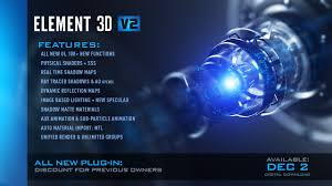 Element 3d Motion Design Pack Download Video Copilot After Effects Tutorials Plug Ins And Stock