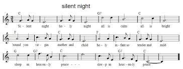 sheet music silent night silent night tin whistle sheet music irish folk songs