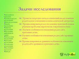 Презентация на тему Магистерская диссертация Сравнительный  7 Задачи исследования