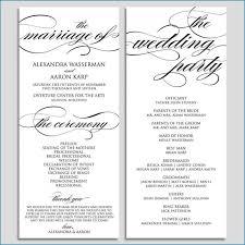 Wedding Ceremony Program Template Free Download Easy Diy Wedding Ceremony Program Wedding Ideas