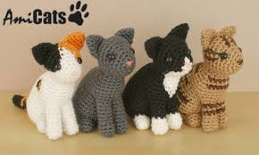 Free Crochet Cat Patterns Adorable Blog PlanetJune By June Gilbank AmiCats Crochet Patterns