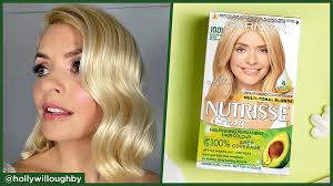 holly willoughby and garnier nutrisse