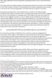 Form U Visa Toolkit For Law Enforcement Agencies And Prosecutors Pdf