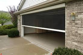 rollup garage doorGarage Screen Doors Roll Up  The Better Garages  Garage Screen