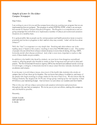 formal letter to the editor a formal letter to the editor sample