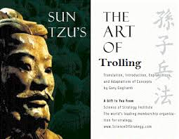 sun tzu s ldquo the art of trolling rdquo beach sloth sun tzu s ldquothe art of trollingrdquo
