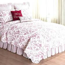 toile duvet set red bedding red sheet set queen red and white fl bedding red comforter toile duvet set