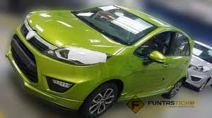 new car release malaysia 2014Proton P230A fully revealed in a latest spyshot